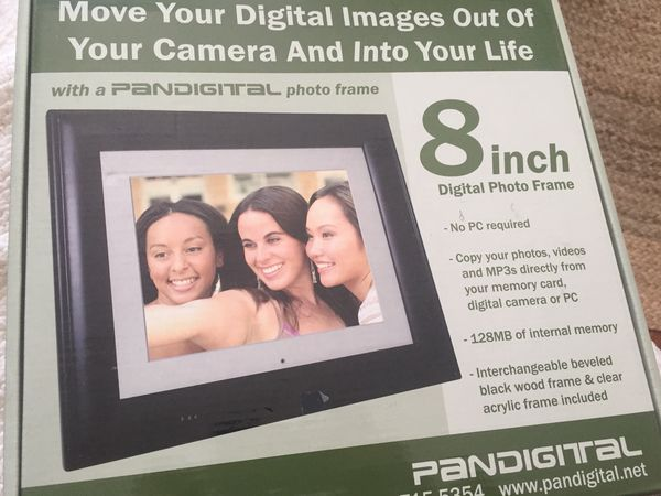 Pandigital 8 Digital Photo Frame Photography In Port Washington Wi