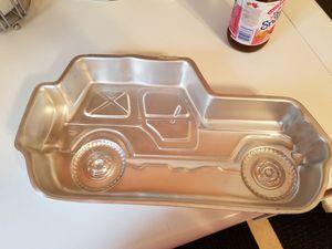 Jeep cake pan