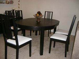 Dinner Table and Sideboard