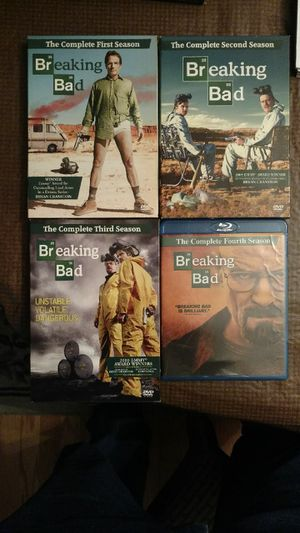 Breaking Bad Complete Series DVD & Blu Ray Sets