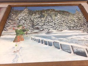 Bagpiper Painting