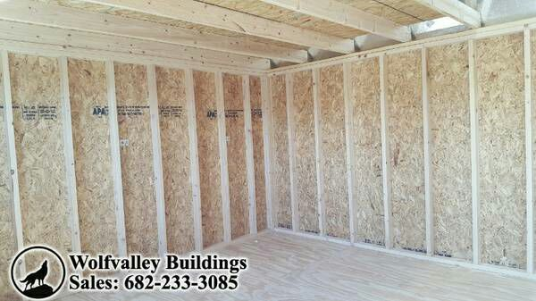 12x24 Storage Sheds Prices - Portable Building 12 X 24 Lofted Barn