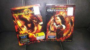 Hunger games dvds