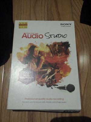 Audio studio software