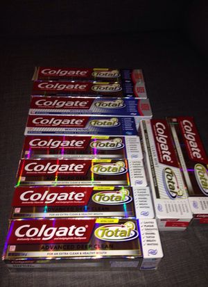 **** 10 Tubes of Colgate. Please See All The Pictures and Read the description
