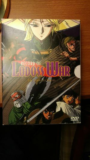 Record of Lodoss War Anime DVD Set