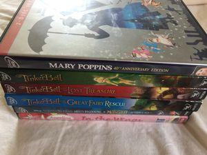 6 Disney DVD Movies