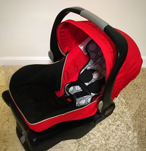 Baby Britax Infant Car Seat - Red