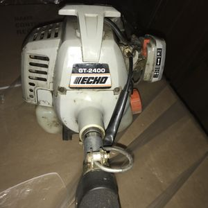 ECHO GAS POWERED GT-2400. IN GOOD WORKING CONDITION! PRICED TO SELL!
