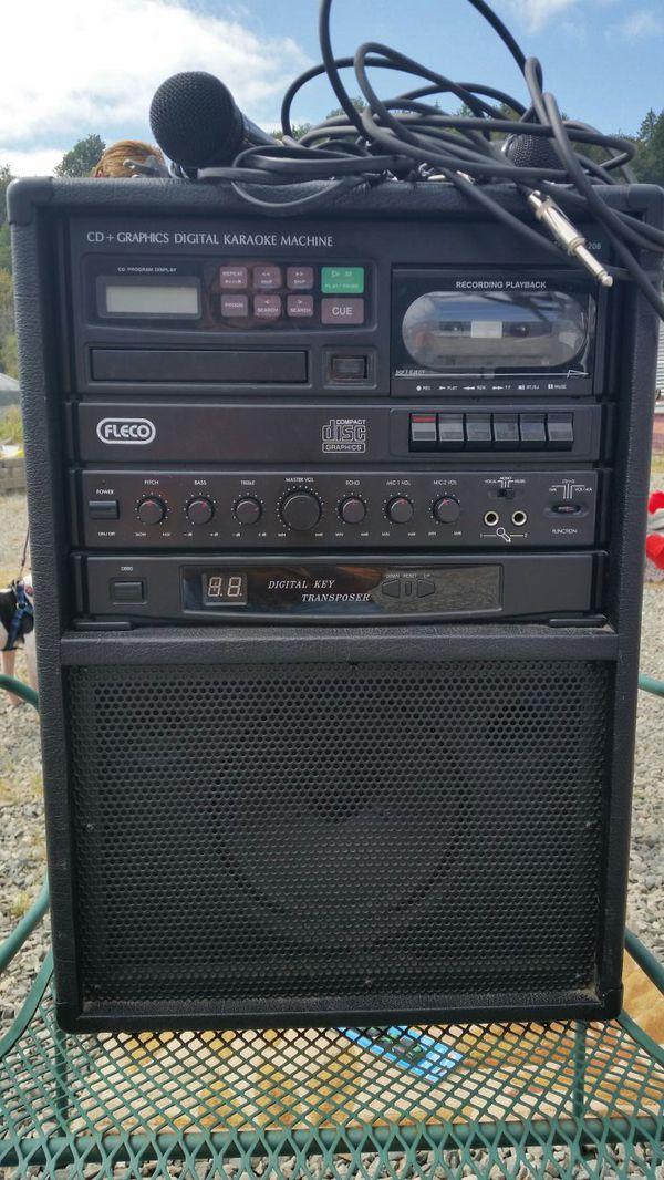 fleco karaoke machine