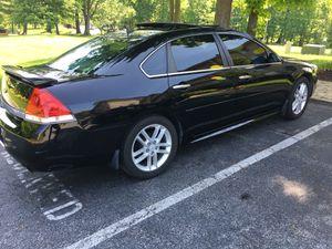 Chevy impala ltz 2010 63k miles black on black