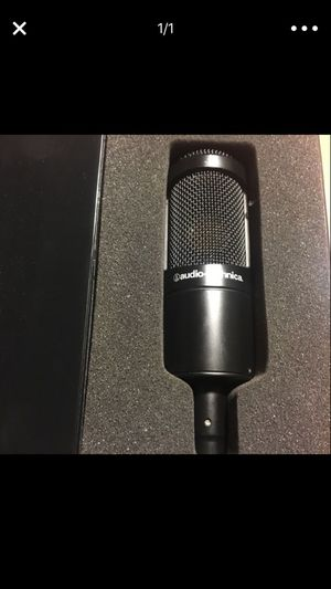 Audio-Technica Condenser Microphone (NO CORDS)