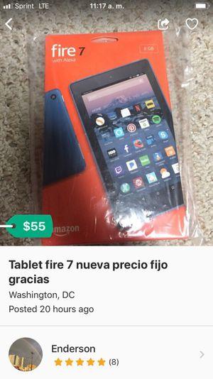 Tablet 7 precio fijo