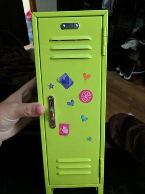 American girl doll locker