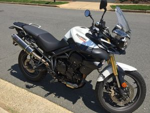 2012 Triumph Tiger 800 ABS with ONLY 6210 Miles!!!