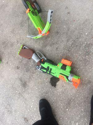 Zombie apocalypse nerf guns