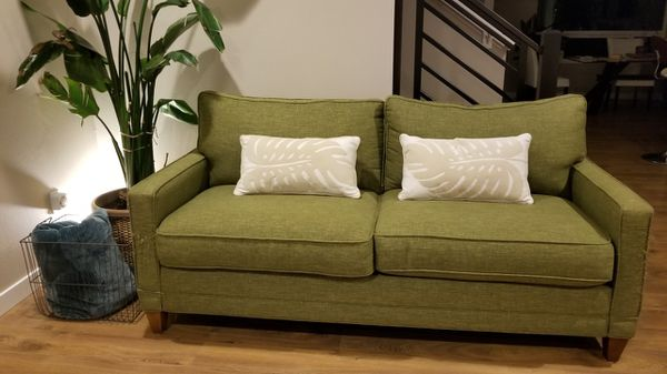 Retro-Green Apartment Size Sofa (Furniture) in Seattle, WA