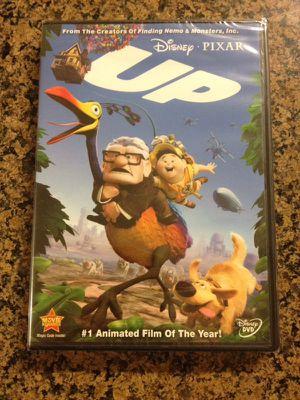 DISNEYS UP DVD NEW-UNOPENED