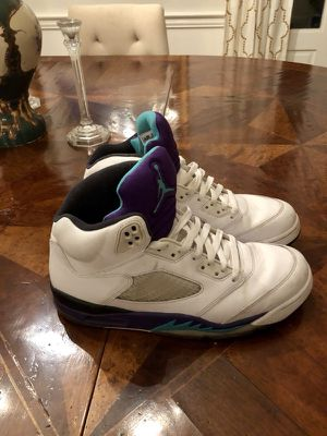 Jordan Retro Grape 5's
