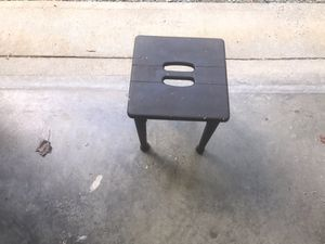 Old stool !
