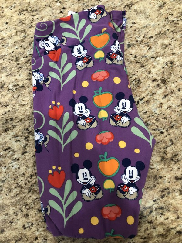 bf98a7a5c9741b Lularoe Disney Mickey and Minnie Mouse OS leggings (Clothing & Shoes) in  Queen Creek, AZ - OfferUp
