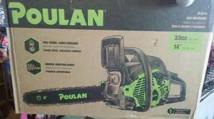 Poulan gas chainsaw