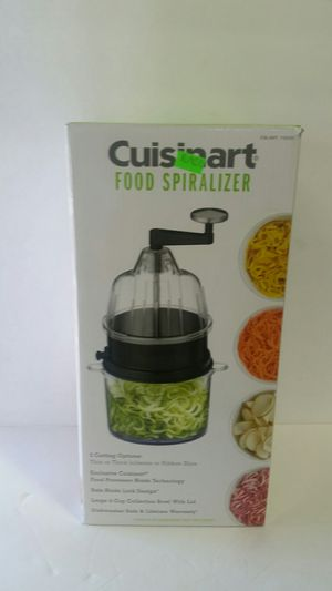Cuisinart Food Spiralizer like new