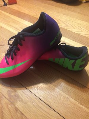 Pink cleats NIKE