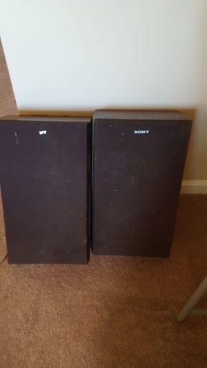19 inch sony speakers