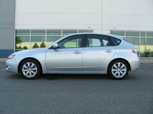 2010 Subaru Impreza hatchback. Auto