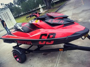 2014 Seedoo 260 RXPR with 85hr only 55 mph has a 130 engine
