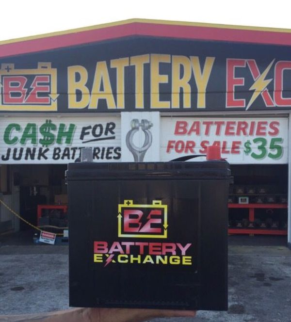 $35 car batteries with warranty (General) in Saint Petersburg, FL Cash For Batteries on