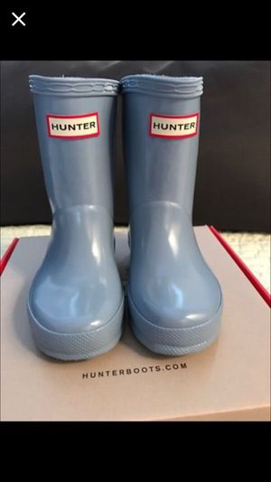 Hunter boots for toddler size 6 ( Baby & Kids ) in Aloha, OR - OfferUp