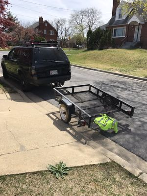 Utility trailer/ motorcycle trailer