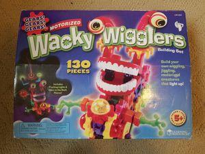 Wacky wigglers building set