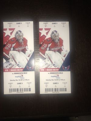 Today's Washington capitals game 2 tickets only $150