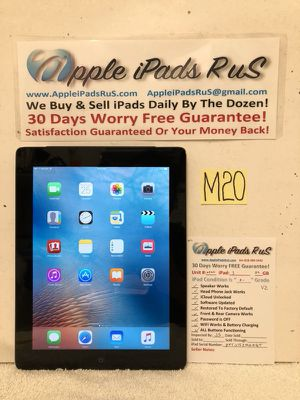 M20 - iPad 3 32GB Cell-VZ