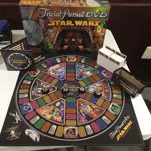 Star Wars Trivial Pursuit DVD Saga Edition