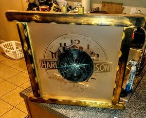 One of a kind Harley Davidson Clock for sale  Tulsa, OK
