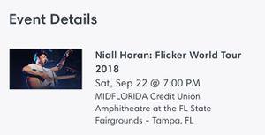 Niall Horan Flicker World Tour Tickets