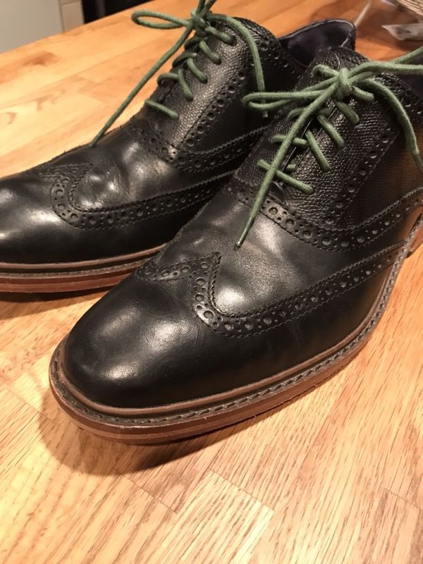 Cole Haan Colton Wingtip Shoes 10 1/2