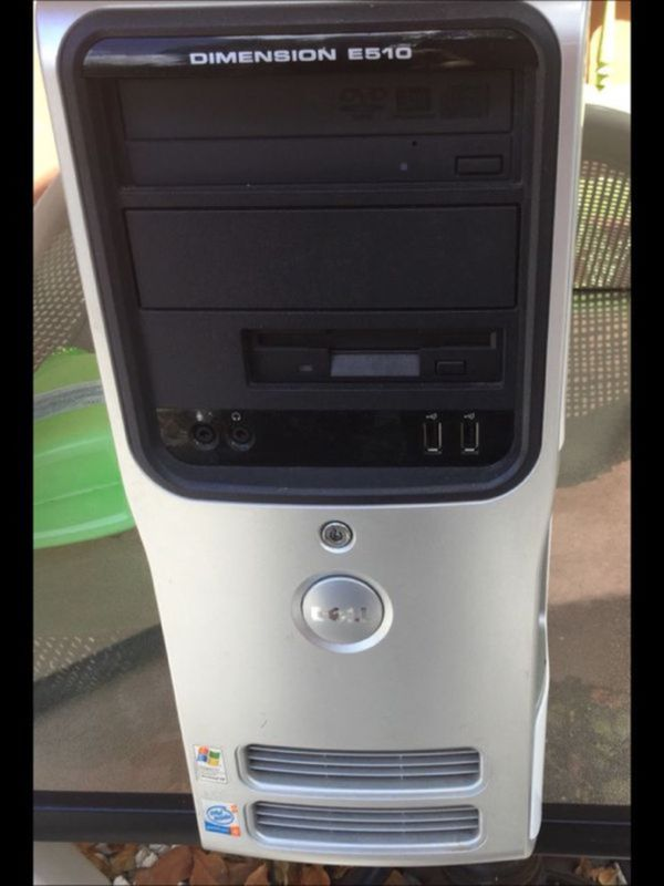 Dell Dimension E510 PC Bad power supply Easy Fix (Computer Equipment ...