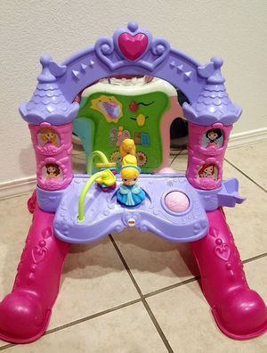 Baby princess musical mirror with lights