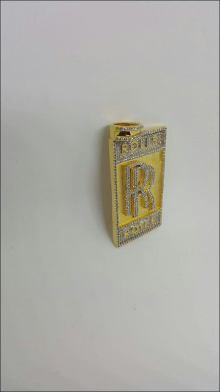 Iced out rolls royce pendant jewelry accessories in woodbridge va aloadofball Choice Image