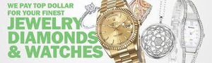 WE BUY WATCHES DIAMONDS ...... TOP DOLLAR PAID