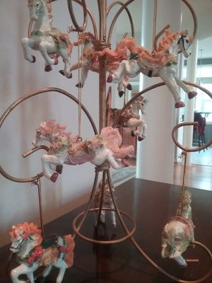 Carousel Horses Ornaments