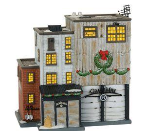 Department 56 Village Jack Daniels Grain Mill Lighted Building Figurine 4059389