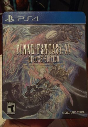 Final fantasy PS4 game
