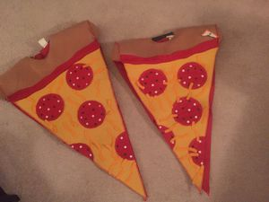 Matching pizza Halloween outfits Costumes