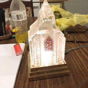 Lighted Crystal Church